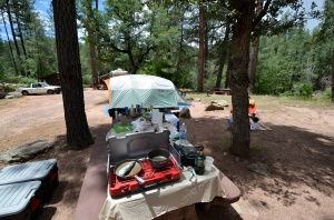 Camping in the Tonto National Forest